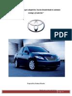 36694602 Case Study Toyota JIT System