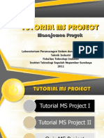 Tutorial Ms Project