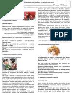 182685059 Simulado Lingua Portuguesa 9 Ano