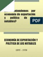 Economía de Exportación