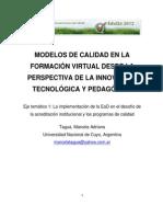 1 2 TAGUA Marcela - Modelos de Calidad en La Formacion Virtual
