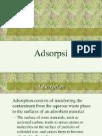 Kuliah Adsorpsi