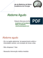 Abdome agudo LACIR