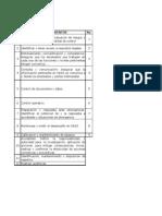 Debes, Procedimientos y Documentos OHSAS