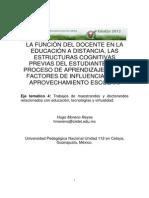 4 40 MORENO Hugo La Funcion Del Docente en La Educacion a Distancia