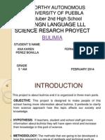 Poer Point Proyecto de Ingles