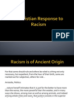 A Christian Response to Racism