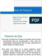 Matrices de Rotación