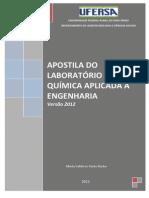 Apostila_Lab. Quimica Aplicada Versão 2013