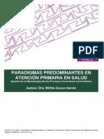 AP1.Paradigmas Predominantes en AP en Salud