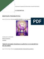 Ascensão e Decretos - Remoção de Implantes