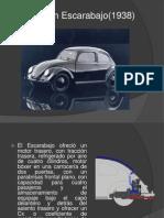 Volkswagen Escarabajo(1938)