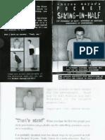 Andrew Mayne - Pocket Sawing in Half