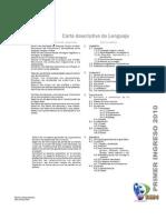 Carta descriptiva de Lenguaje