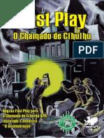 Call of Cthulhu (Fast Play Traduzido)
