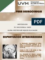 ANESTESIA PARA NEUROCIRUGIA.ppt