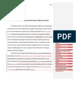 2nd Draft Eportfolio Trackchanges