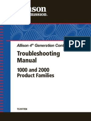 ALLISON TRANSMISSION_TS3977EN_Troubleshooting Manual 4th Gen 1000