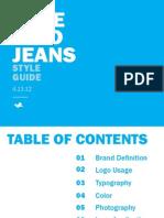Bluebird Jeans Style Guide