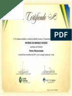 Partes Relacionadas - TV Classe Contábil (01 Hora, 11-2013) - Patrick de Moraes Vicente - Araruama - RJ - Brasil