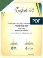 Propriedade Para Investimento - TV Classe Contábil (01 Hora, 10-2013)- Patrick de Moraes Vicente - Araruama - RJ - Brasil