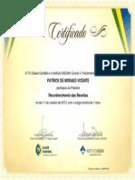Reconhecimento Das Receitas - TV Classe Contábil (01 Hora, 10-2013) - Patrick de Moraes Vicente - Araruama - RJ - Brasil