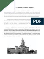 La Arquitectura Frente a La Identidad Cultural de Un Pueblo
