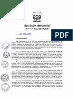 Directiva de Fica a Nivel de Perfil