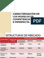 Modelos de Competencia Perfecta e Imperfecta