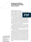 p4_s_Designing the Artificial an Interdisciplinary Study