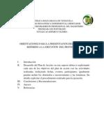 Orientaciones Para La Elaboracion Del Informe Final