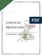 Trabajo de Costos de Produccion