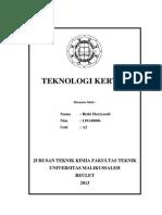 COVER Teknologi Kertas