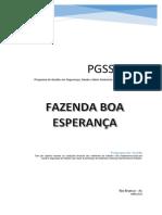 PGSSMATR-2014 - Fazenda Boa Esperança
