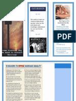 brochure against ssm
