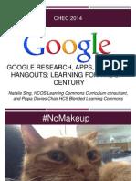 Google Docs Demystified April 17