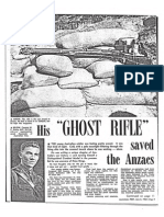 His Ghost Rifle Saved The Anzacs - article in the Australasian Post magazine, June 6, 1963
