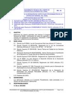 Procedimiento Tecnico N_1 Programación Semanal