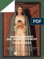 ESPIRITUALIDAD Maria Madre Del Buen Consejo Tomo VIII Carátula n001