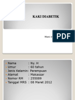 Kaki Diabetik April 2012