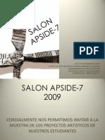 APSIDE-SALON de artistas 7 2009