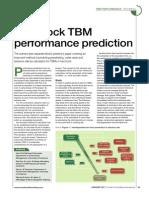Hard Rock Tbm Performance Prediction