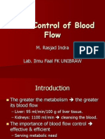 Local Control of Blood Flow