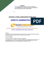 ApostilaAdministrativo TEORIA E EXERCICIO