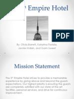 the 5th empire hotel presentation
