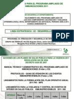 10 Lineamientos Vacunación PAI 2011