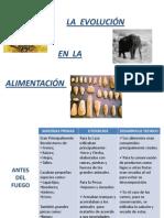 Evolucion e Historia en La Alimentacion
