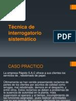 Técnica de Interrogatorio Sistemático