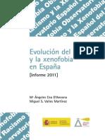 Cea D'Ancona y Valles Martínez 2011 Evolución Del Racismo y La Xenofobia en España