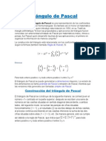 Triángulo de Pascal 1